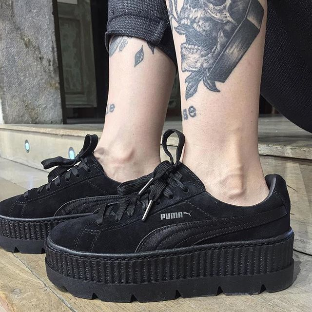 the best attitude b4d4b 8e49d ♠️ Puma Fenty Cleated Creeper by @cassie_cachou ...
