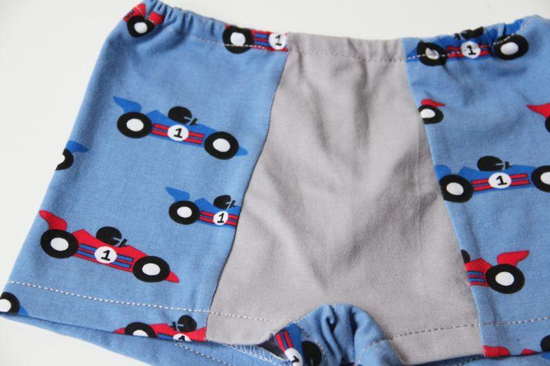 Návod a střih na dětské boxerky - trenky (velikost 80 - 158 ... 870ee0275a