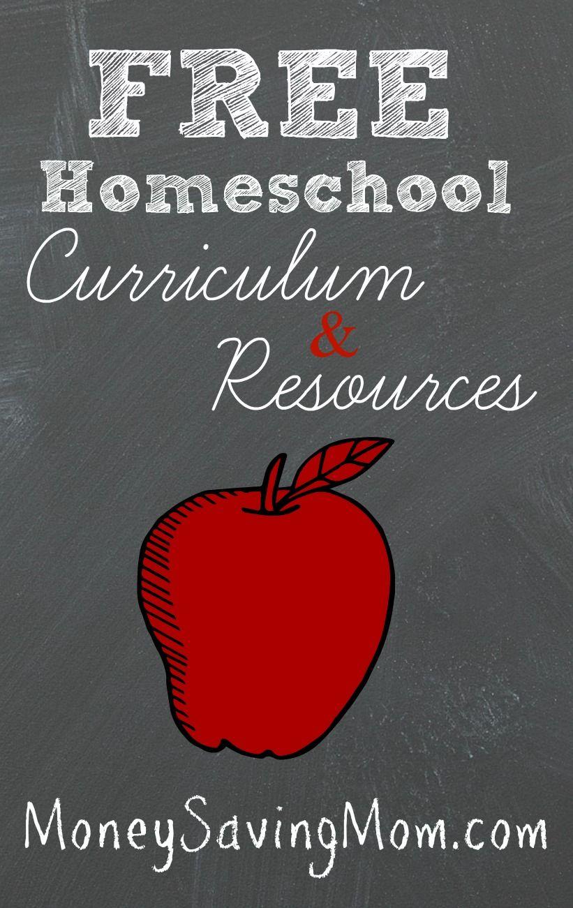 Free Homeschool Curriculum & Resources