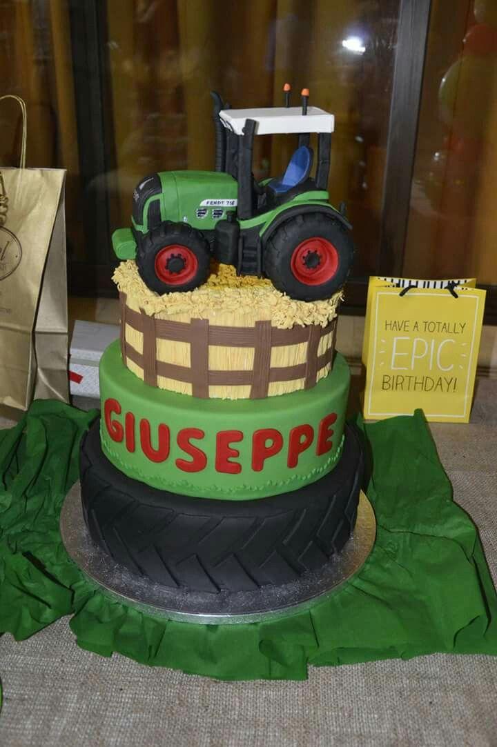 Torta Trattore Cake Trattore Idee Torta Torte