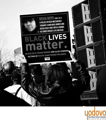 """While we're giving thanks tomorrow lets not forget…… """"the sign of the times"""" #BlackLivesMatter #march4justice #sayhername #rekiaboyd and all victims of injustice  #???????? @TMO365 #TMOPhotography #RekiaBoyd"""