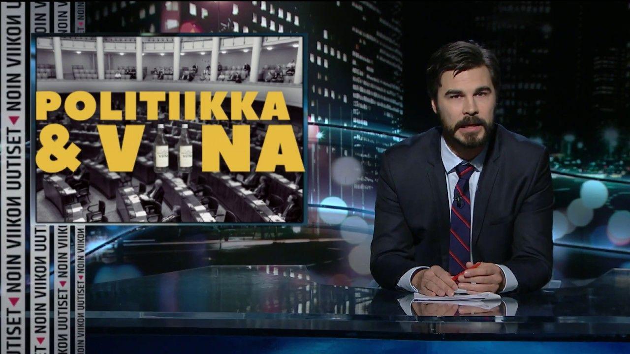 Jukka Lindström & Noin viikon uutiset: Politiikka ja viina