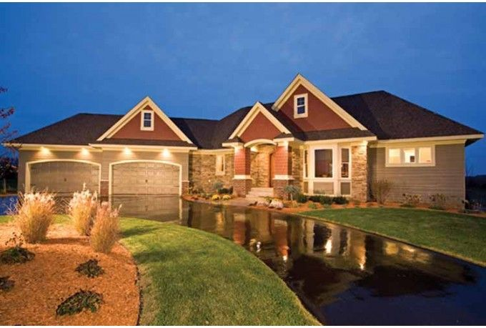 European Style House Plan 4 Beds 3 5 Baths 4790 Sq Ft Plan 51 1125 Craftsman House Plans Country Style House Plans Ranch House Plans