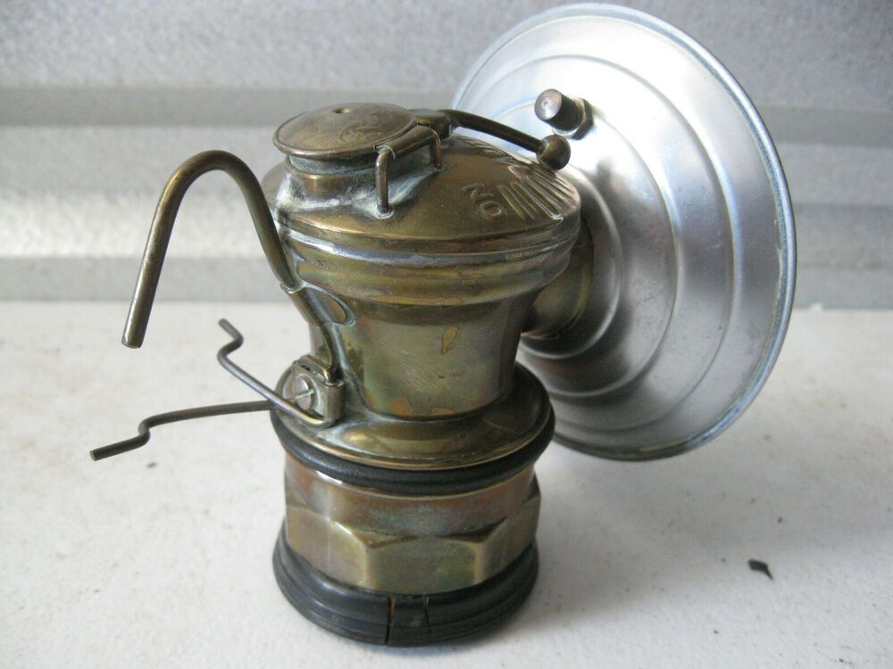 Vintage Auto Lite Carbide Miners Lamp Vintage Cars Vintage Lamp