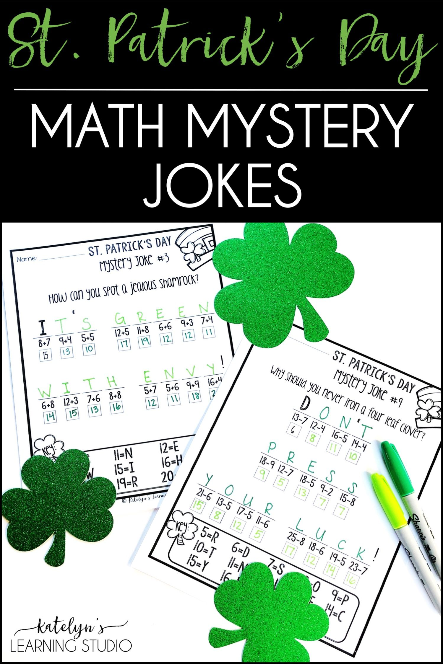 St Patricks Day Math Worksheets