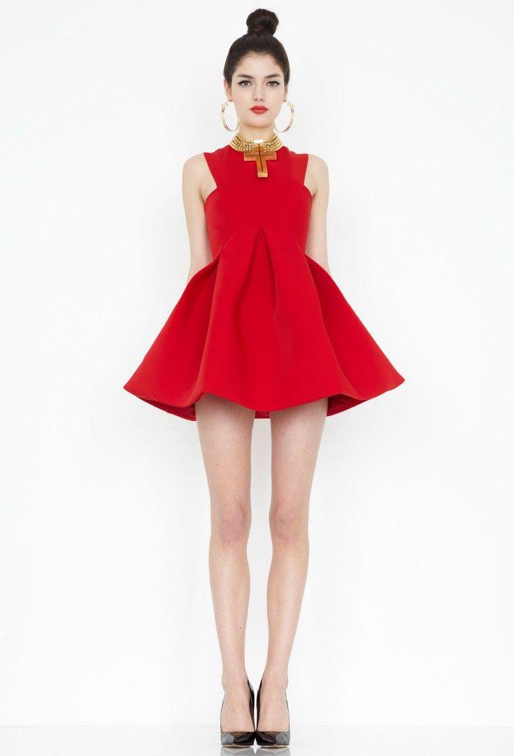 Major Red Skater Mini Dress-UK 4   In my closet   Pinterest ... 0d38fe7c69