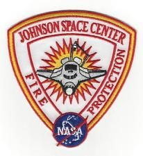 NASA JOHNSON SPACE CENTER FIRE PROTECTION PATCH ~ HOUSTON ...