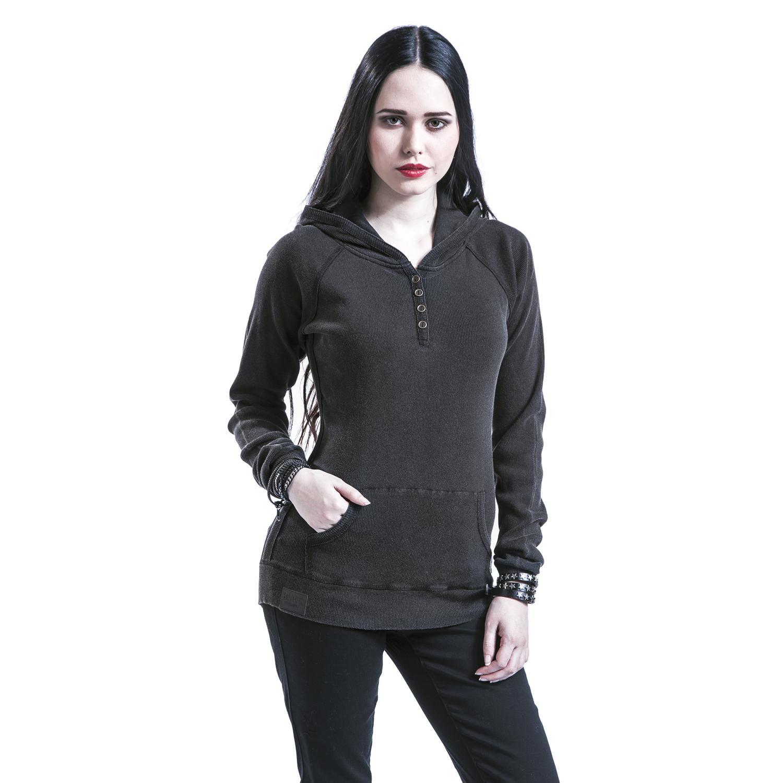 19.99e SHooded Shirt - Black Premium by EMP