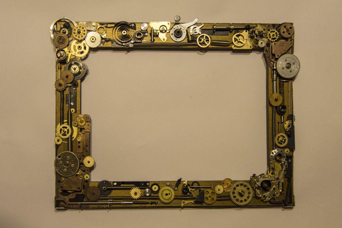 A Steampunk frame by Xaoc-God on DeviantArt | Metal | Pinterest ...