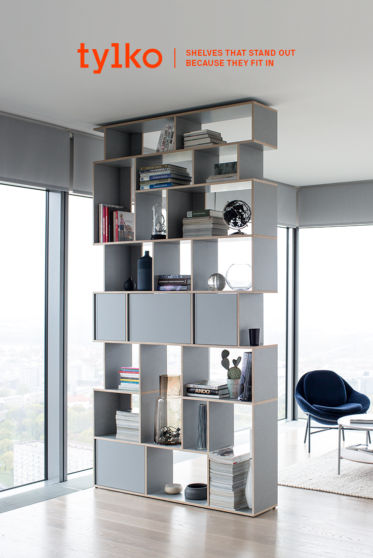 the tylko shelf is customizable down to the last centimetre it comes in three different colours white grey and black click the link to customize yours