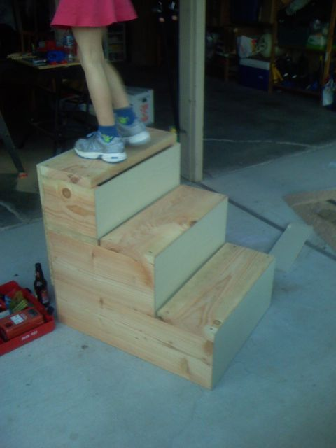 How To Build A Mounting Block Page Mill Ranch Animals Horses