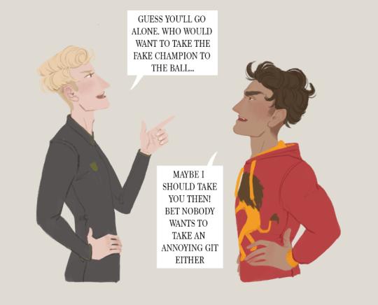 Nathalaen Drarry Drarry Fanart Harry Potter Fan Art