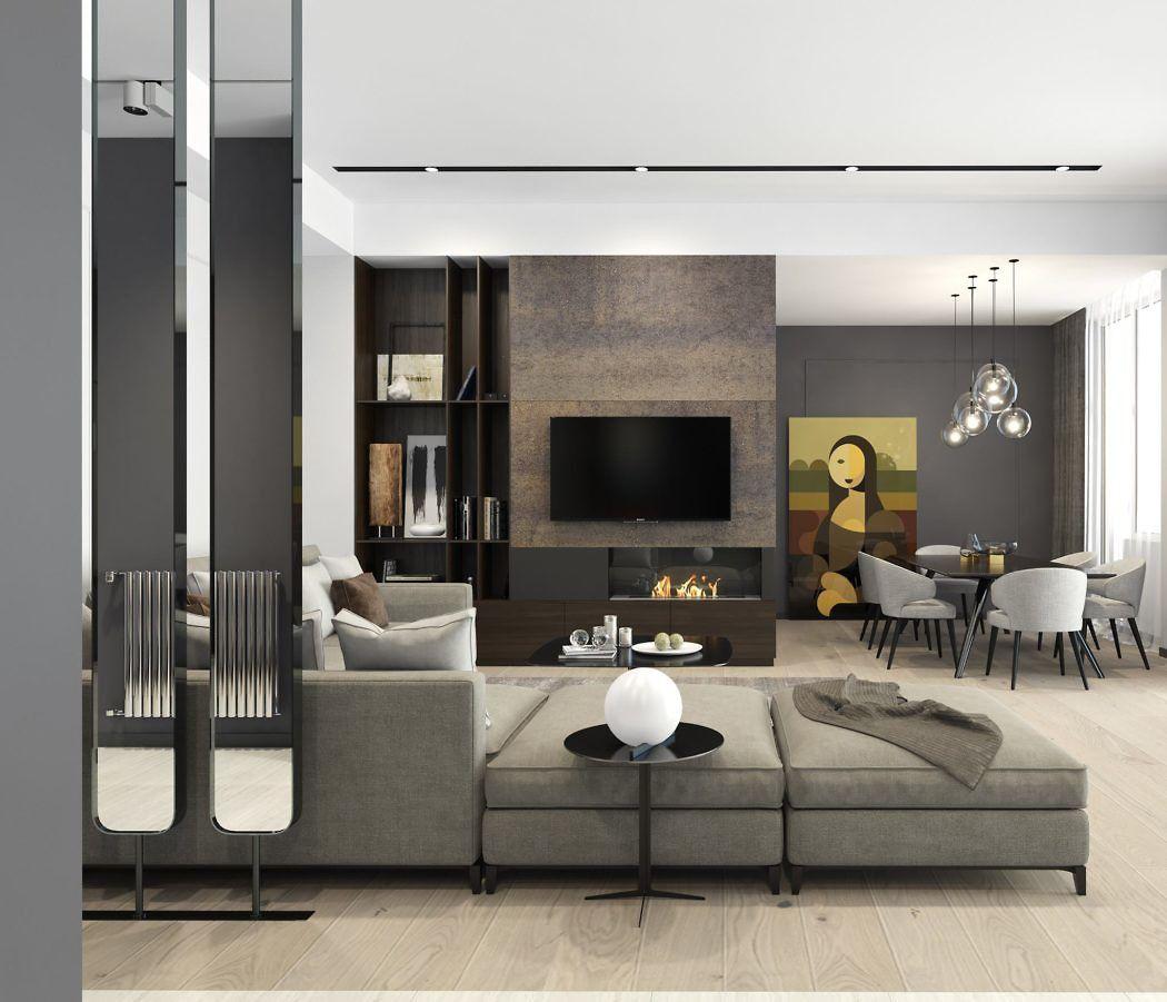 Can You Get An Apartment At 18 In Georgia Residential Apartment By Tako Kenkishvili Stilnye Gostinnye Dizajn Dom