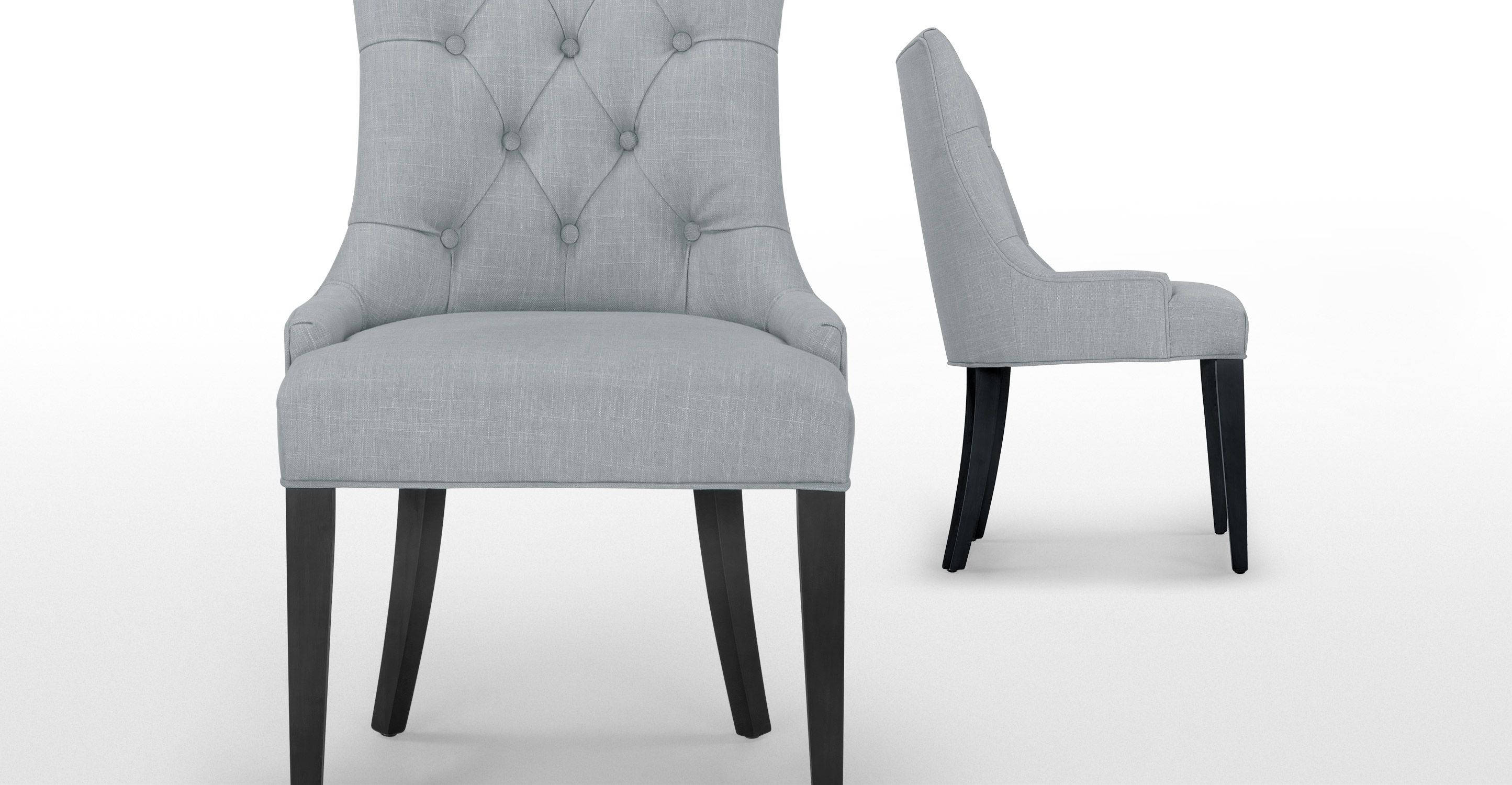 Flynn Scoop Back Chair in persian grey Dining