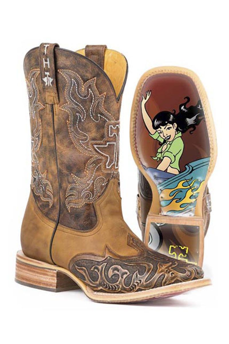 24df2c34b3a Tin Haul Men's Smokin Hot Cowboy Boots #pinup #western | TinHaul ...