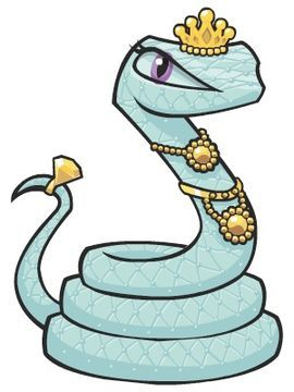 Hissette Cobra De Estimacao Desenhando Cabecas Monster High
