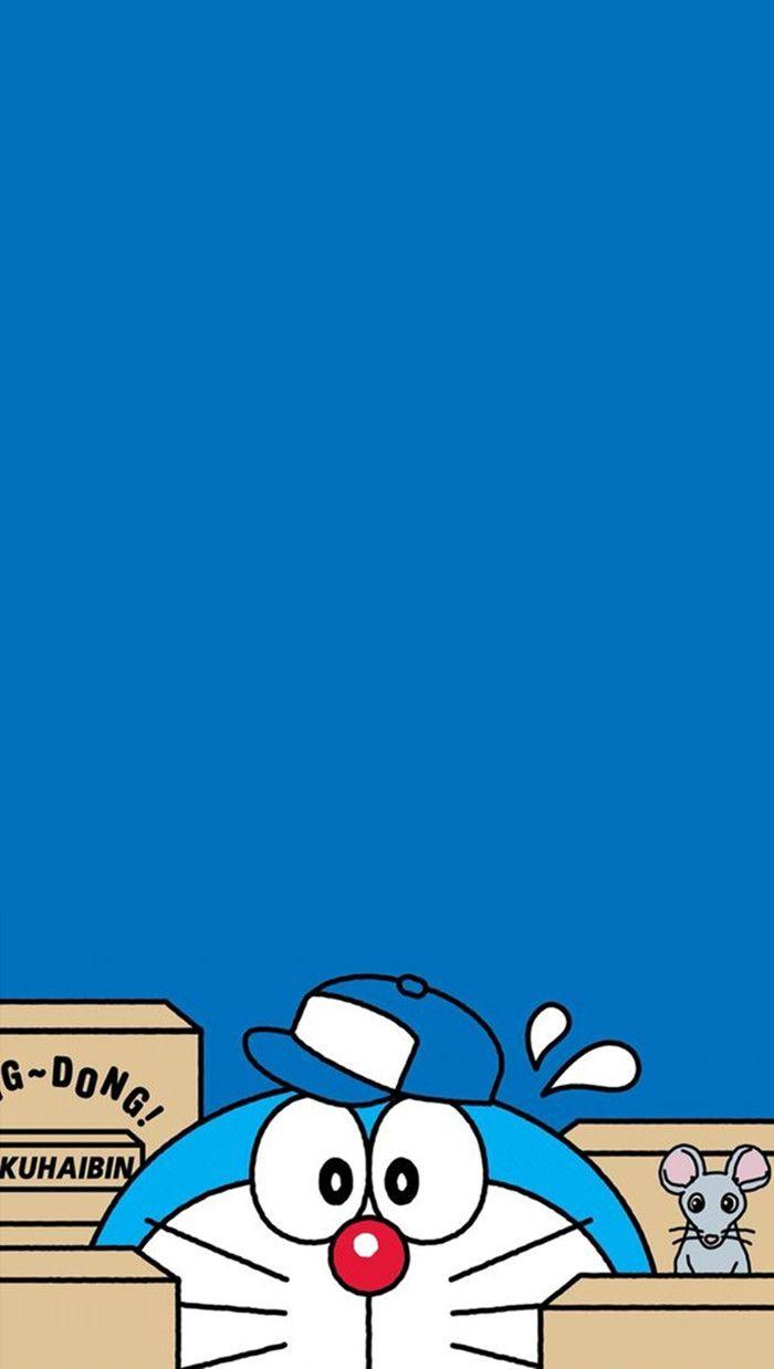 Download 58 Gambar Doraemon Lucu Love HD Gratid