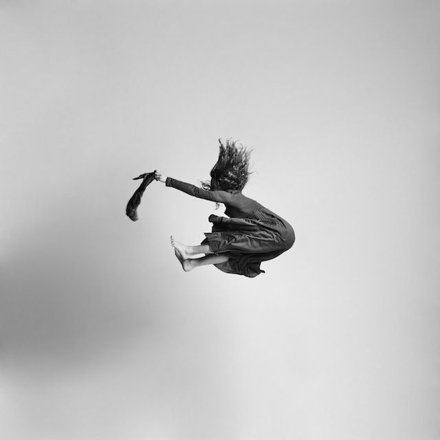Black and white jumping people photography-15