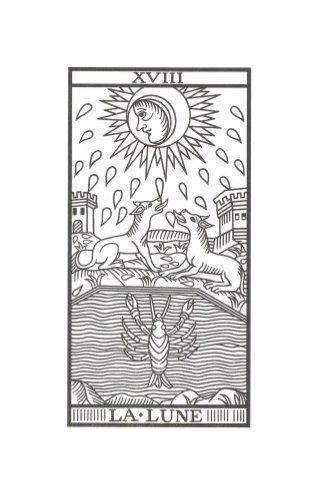 Image result for la luna carta tarot marsella | Tattoo inspiration ...