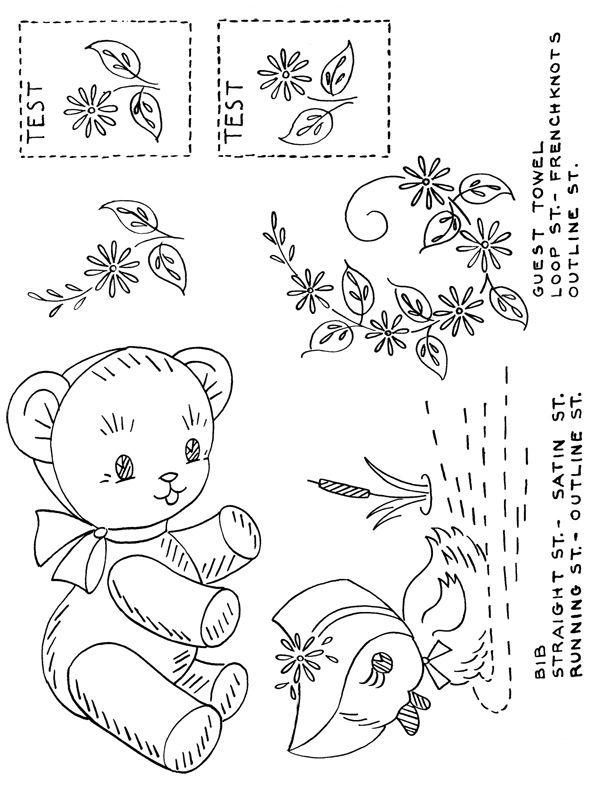 Free Embroidery Patterns Lovetoknow Needle Work Pinterest