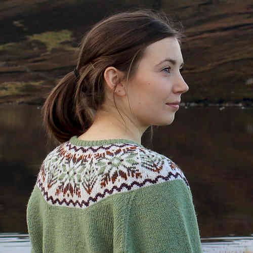 Hairst Cardigan by Sandra Manson - Jamieson and Smith, Real ...