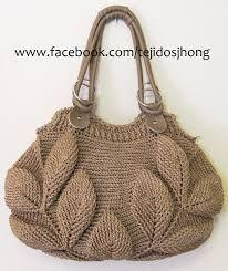 Tejidos a crochet bolsos y carteras buscar con google - Como hacer bolsos tejidos ...