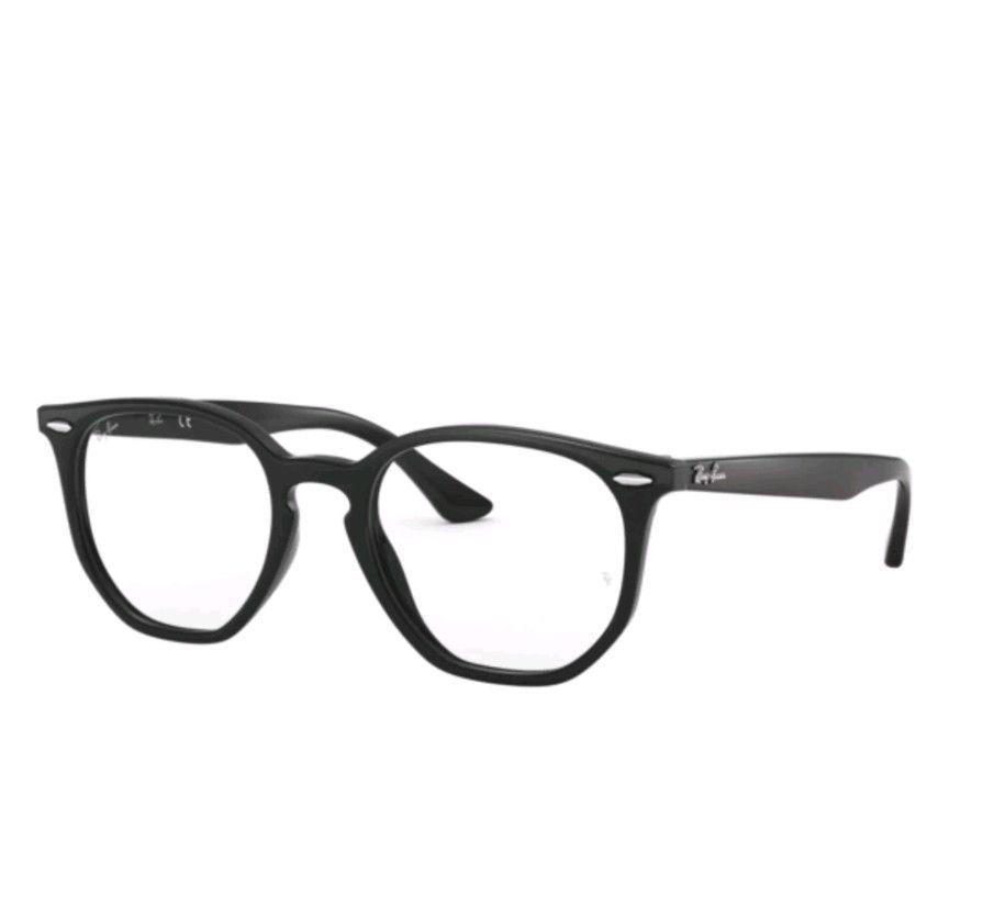 ad3a3437f4 Authentic Ray Ban 0RX7151F 2000 BLACK Eyeglasses (eBay Link)