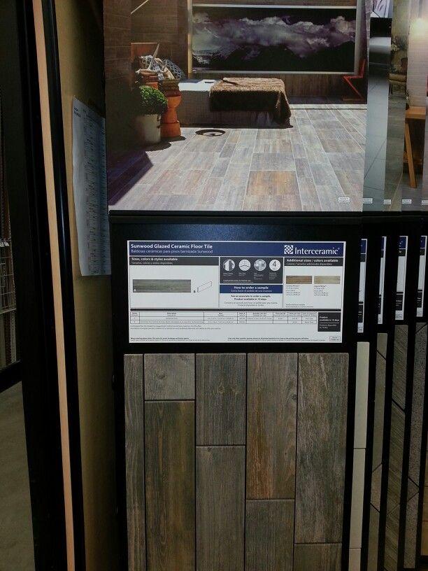 Sunwood Glazed Ceramic Floor Tile Display House Pinterest