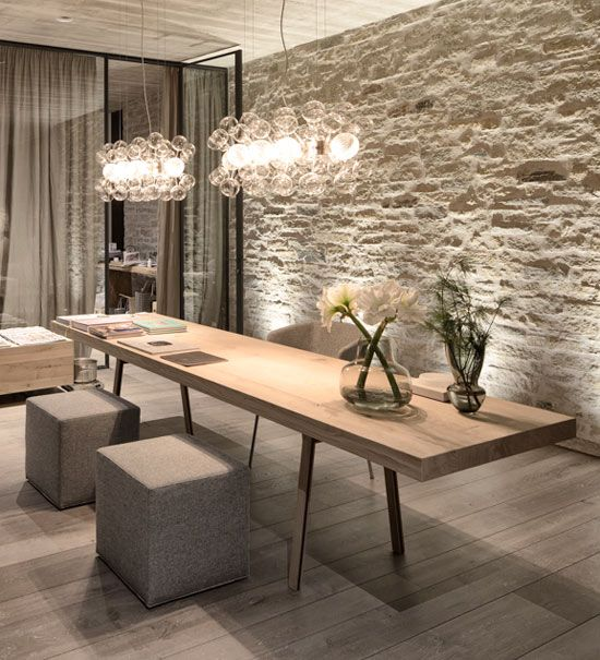 TheDesignerPad - The Designer Pad - AN ALPINE OASIS LIghts, table - Decoration Salle Salon Maison