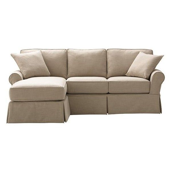Home Decorators Collection Mayfair Pearl Linen Fabric Sofa: Mayfair Slipcovered Sofa With Chaise