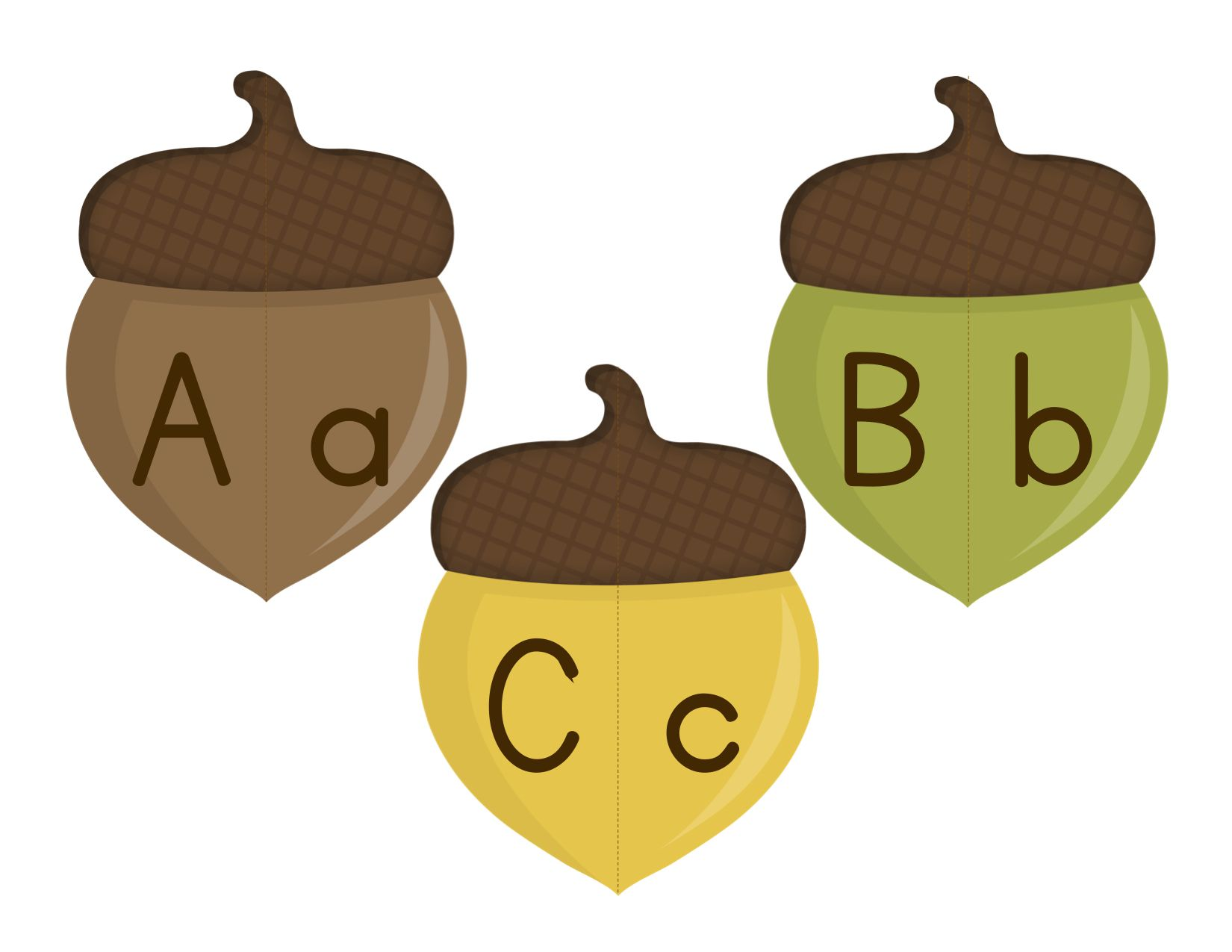 Letter Sort Amp Alphabet Match Fall Themed