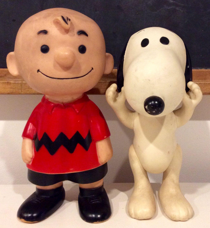 Vintage Hungerford Vinyl Charlie Brown Snoopy Linus Dolls Charlie Brown And Snoopy Snoopy Charlie Brown