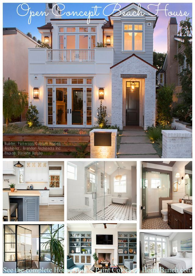 Home Bunch Interior Design Ideas: California Modern Farmhouse Style Beach House (Home Bunch