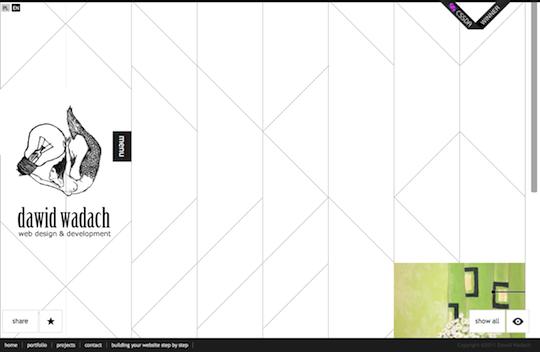 Unusual Layouts in a Minimalist Way: 10+1 Examples of Minimalist Web Design