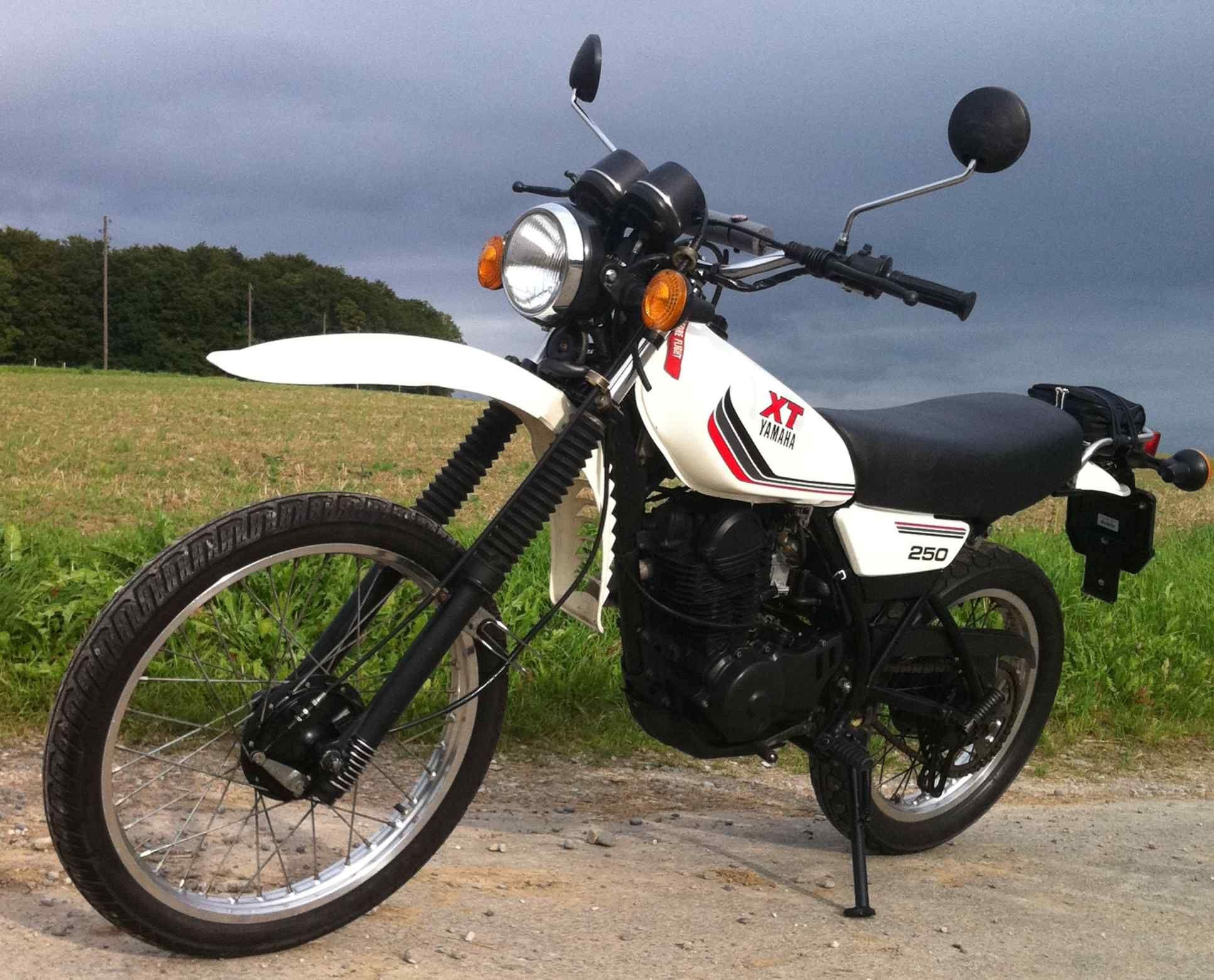 Yamaha Xt125 1984 Enduro Motorcycle Classic Bikes Adventure Bike