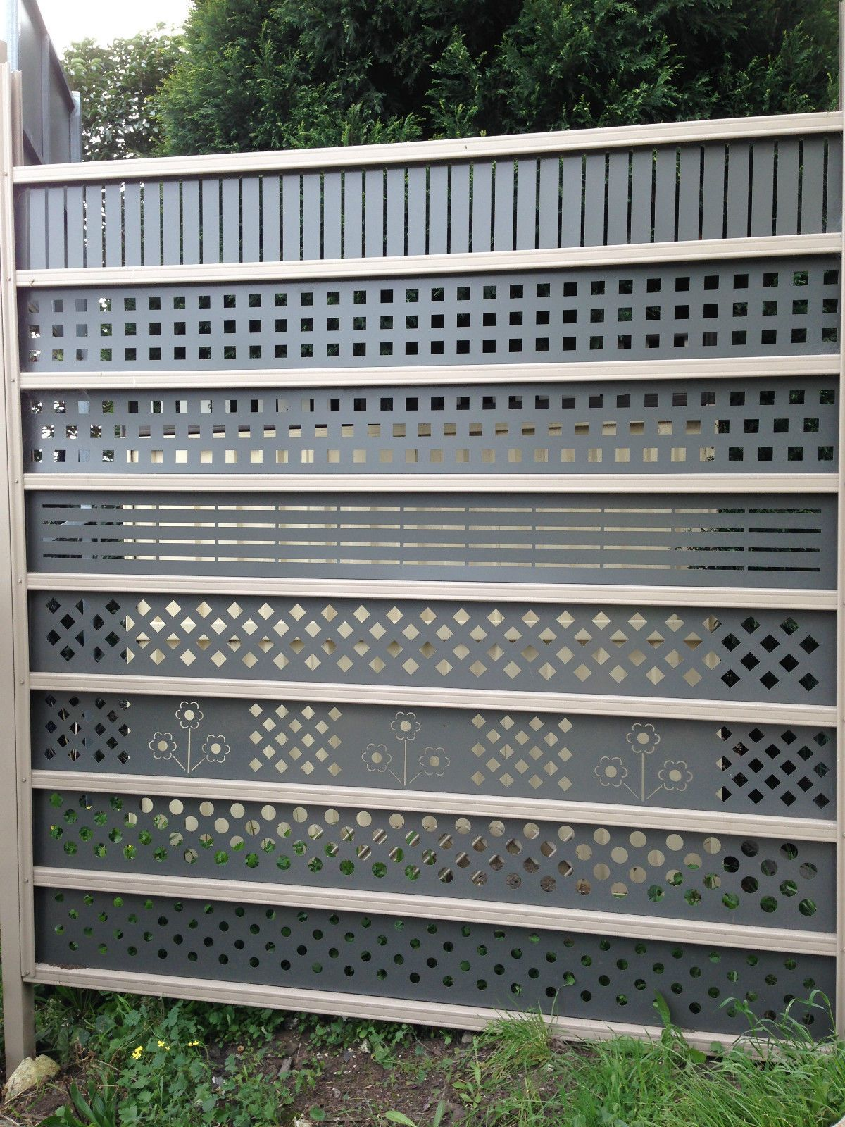 Steel Lattice for colorbond fencing • AUD 25 00 - PicClick AU