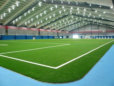 Another Great Shot Of Chelsea Piers Ct And Their Nexxfield Non Infill Portable Synthetic Turf Tribunes Indoor Outdoor