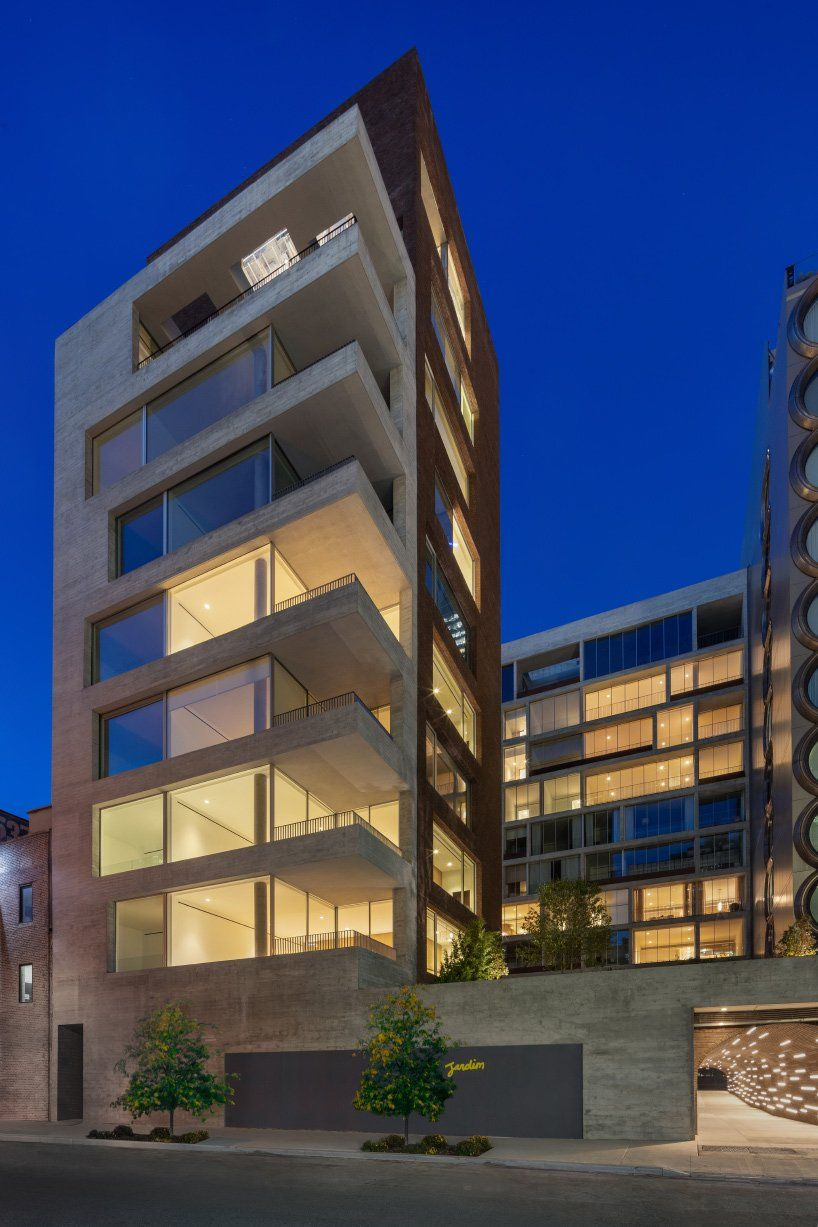 Isay Weinfeld Completes Jardim Residential Towers In New York Apartment Building Luxury Apartments Residential Building
