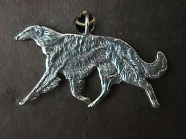 borzoi jewelry -necklace piece