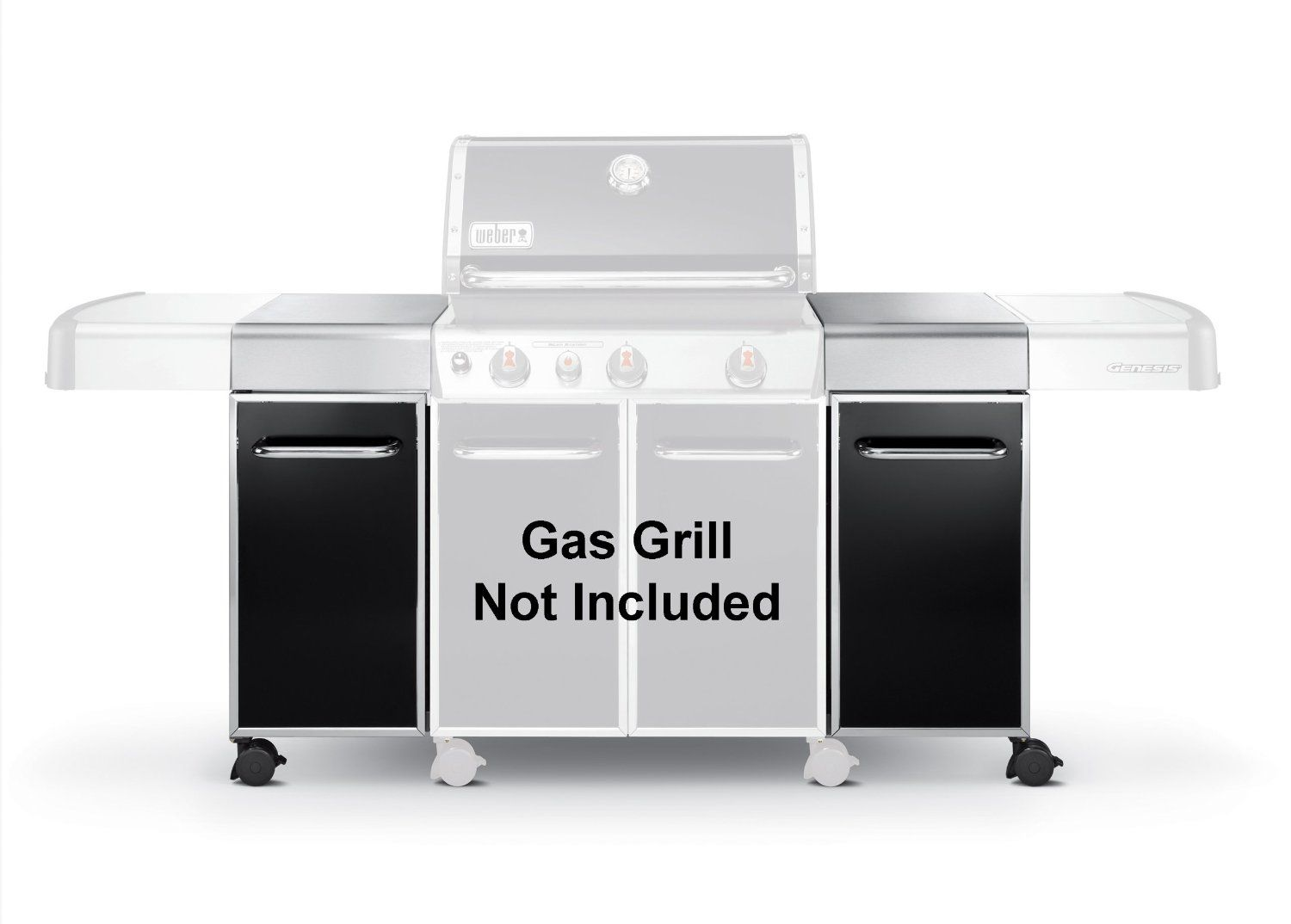 Amazon.com : Weber 7591 Genesis Island Cabinetry : Outdoor Grill ...