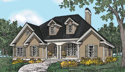 House Plans The Woodbine Home Plan 518 E2