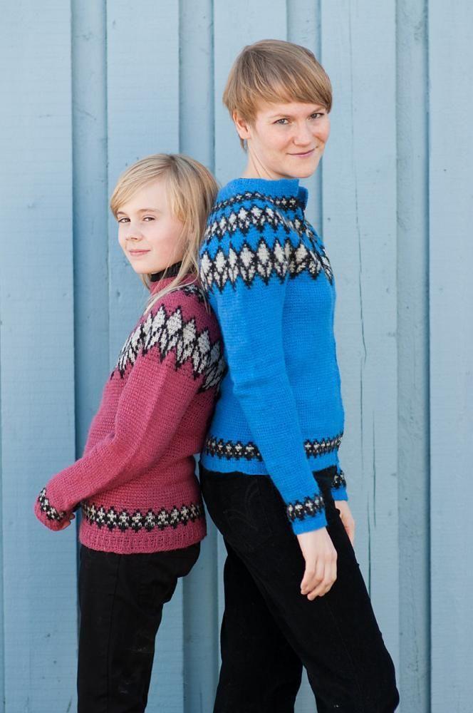 trendy crochet patterns for kids: crochet icelandic sweater on ...