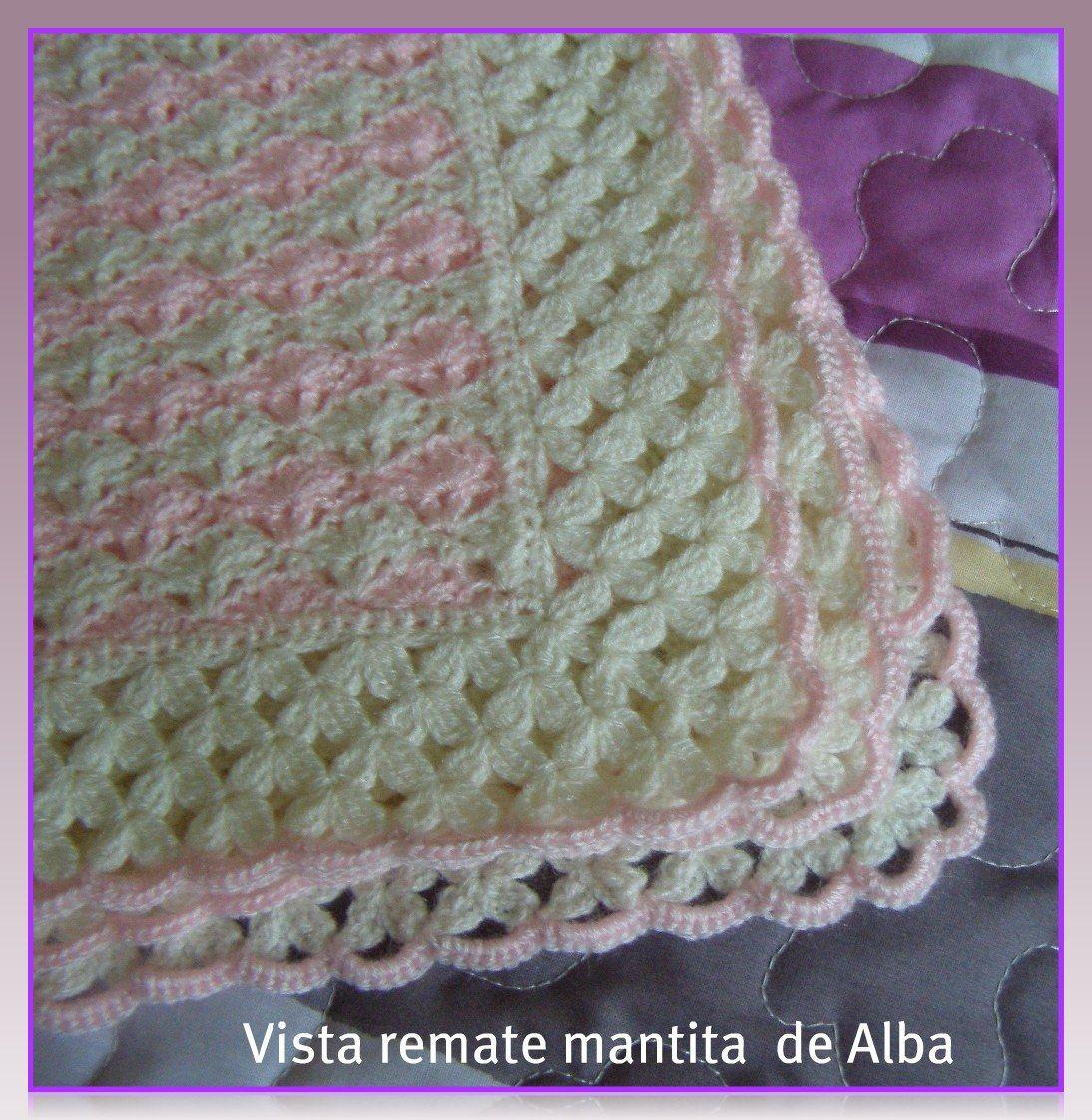 Resultado de imagen para crochet | COBIJITAS/MANTAS DE BB ...