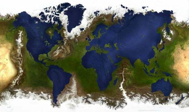 sea land reverse map | Of Metal Souls | Map, World, Geography
