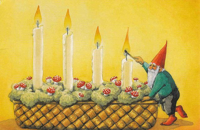 Nordic Thoughts: It is the first Sunday of Advent tomorrow!