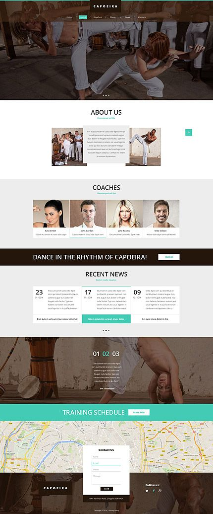 Capoeira club website template themes business responsive capoeira club website template themes business responsive cheaphphosting Choice Image