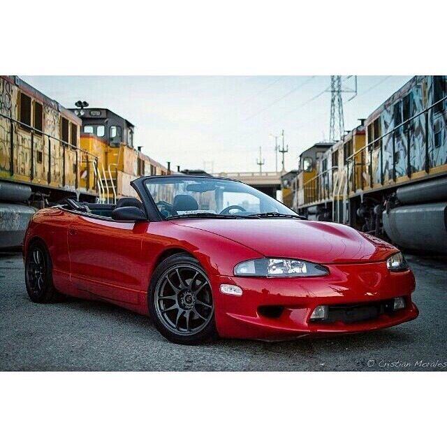 2g Eagle Talon Convertible Dsm Cars Mitsubishi Eclipse Spyder