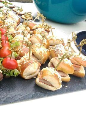 Bayern-Burger als Fingerfood von OhCinderella | Chefkoch #brochetteapero