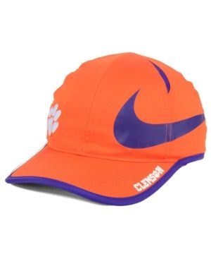 2f9cb1be Nike Clemson Tigers Big Swoosh Adjustable Cap - Orange Adjustable ...