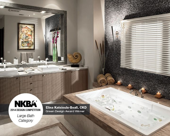 "Bathroom Designs From Nkba 2012 Finalists: 2014 NKBA Design Competition Winner- Green Design ""A Haven"